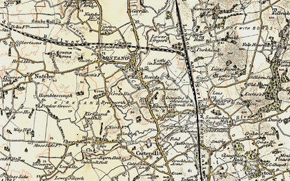 Old map of Bonds in 1903-1904