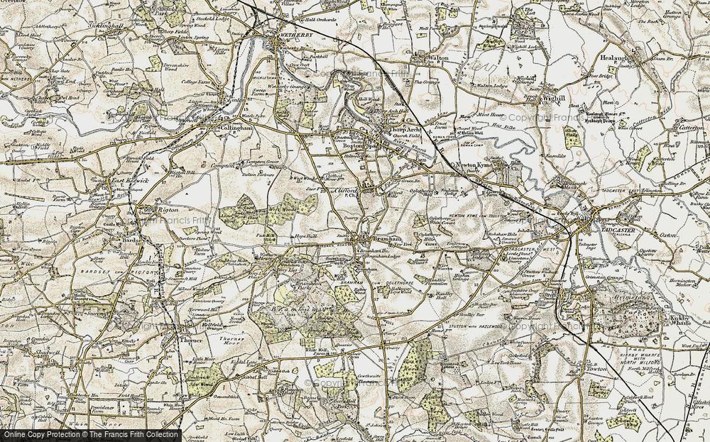 Map of Bramham