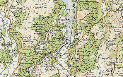 Old map of Lakeside in 1903-1904