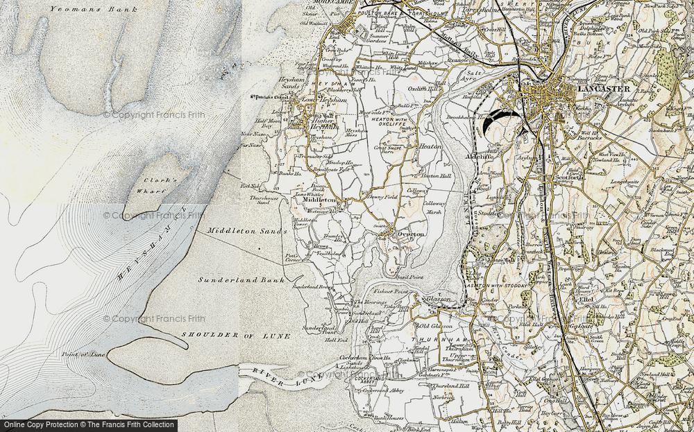 Map of Middleton