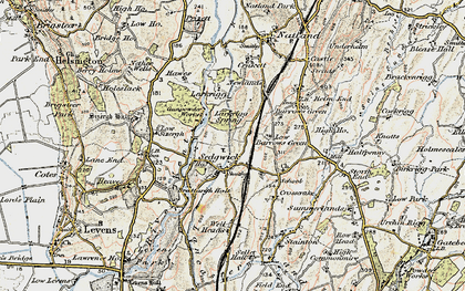 Old map of Sedgwick in 1903-1904