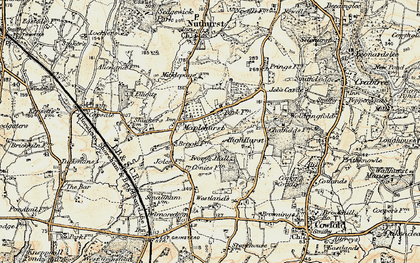 Old map of Woldringfold in 1898