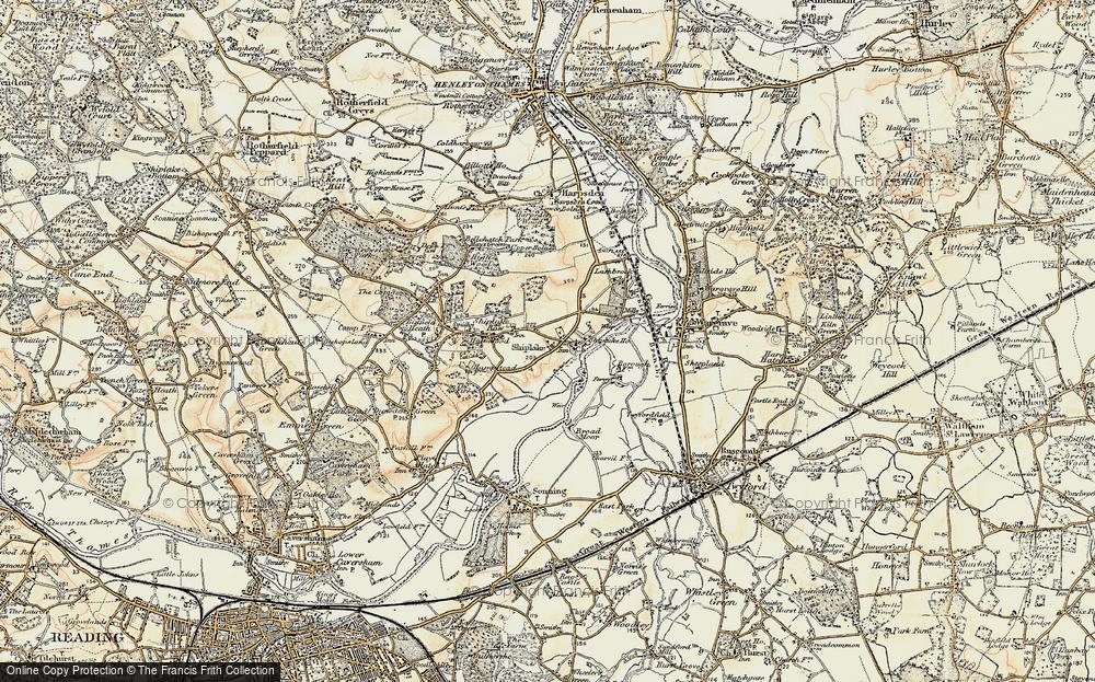 Marsh Lock, 1897-1909