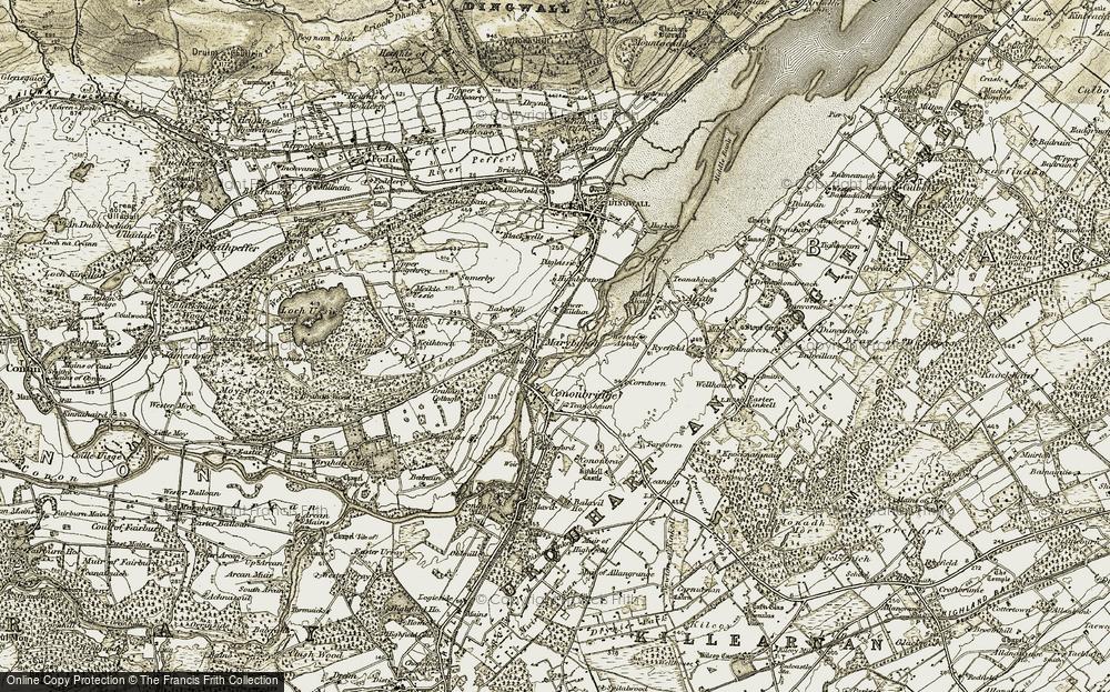 Maryburgh, 1911-1912