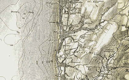 Old map of Whittlieburn in 1905-1906
