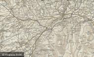 Map of Meldon, 1899-1900