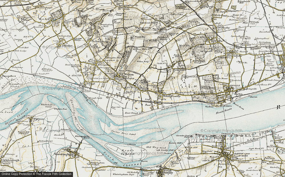Old Maps of Melton Francis Frith