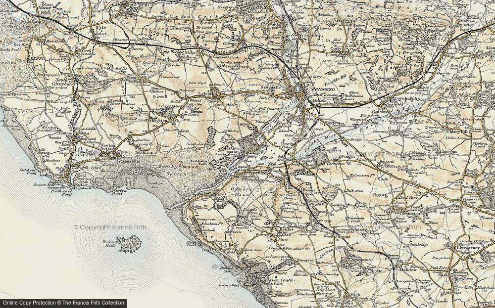Merthyr Mawr, 1900-1901