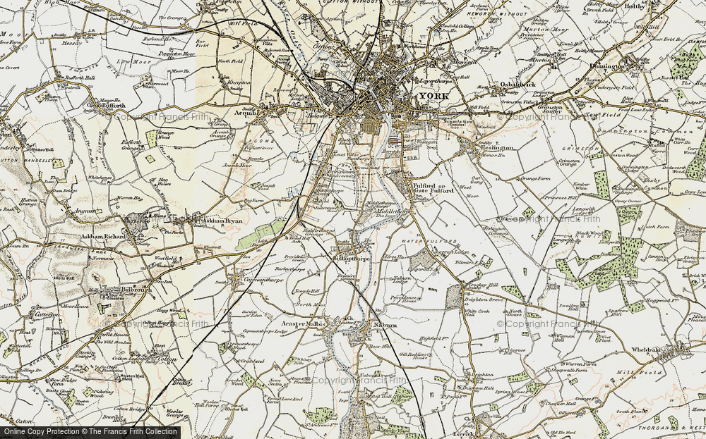 Old Map of Middlethorpe, 1903 in 1903