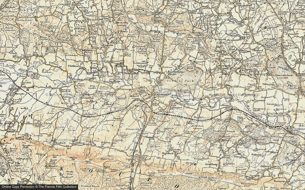 Old Map of Midhurst, 1897-1900 in 1897-1900