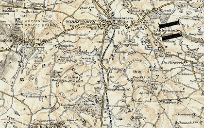 Old map of Alton Manor in 1902