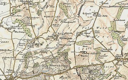 Old map of Whitekeld Dale in 1903