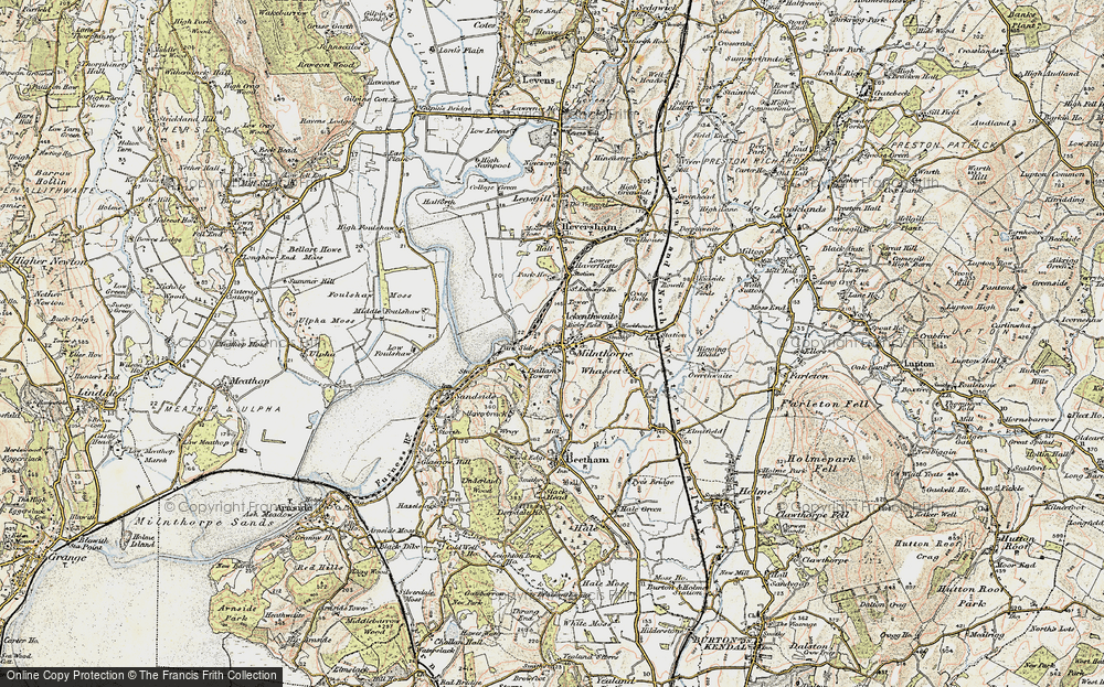 Old Map of Milnthorpe, 1903-1904 in 1903-1904