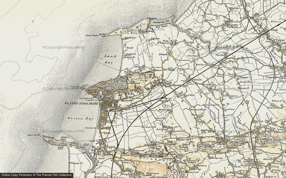Old Maps of Milton Francis Frith