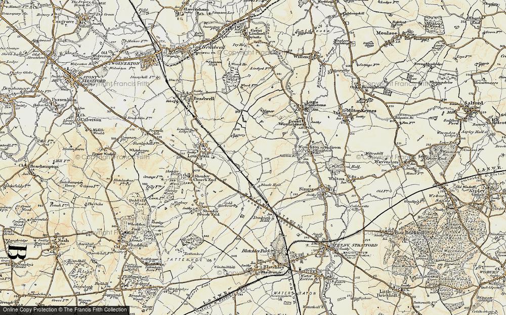 Old Maps of Milton Keynes Francis Frith