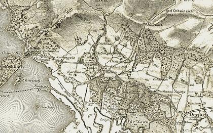 Old map of Bad Ochainaich in 1905-1907