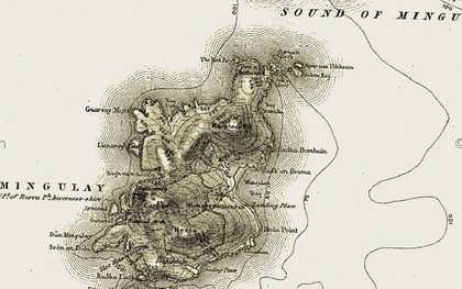 Old map of Bàgh Shleiteadh in 1911