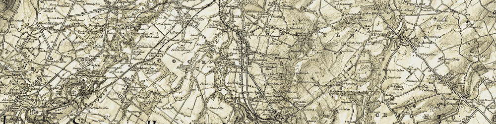 Old map of Lingerwood in 1903-1904