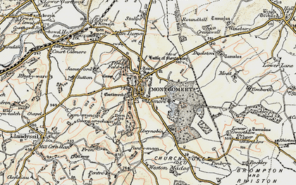 Old map of Montgomery in 1902-1903