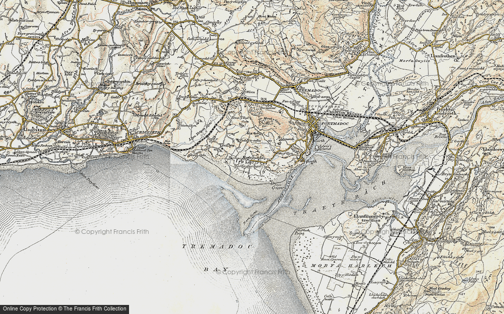 Old Map of Morfa Bychan, 1903 in 1903