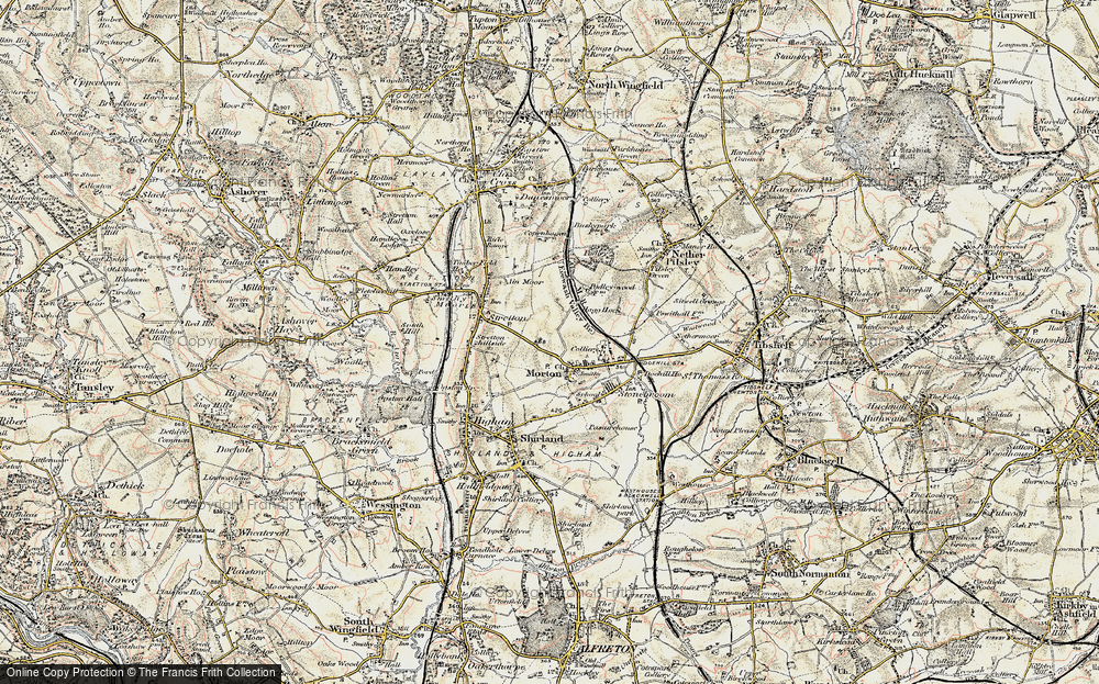 Old Map of Morton, 1902-1903 in 1902-1903