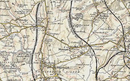Old map of Morton in 1902-1903