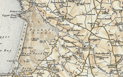 Old map of Mount in 1900