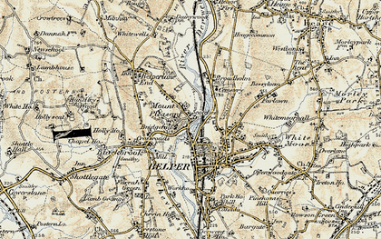 Old map of Mount Pleasant in 1902