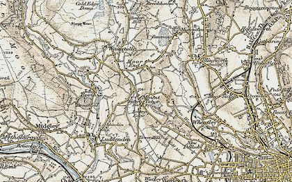 Old map of Mount Tabor in 1903