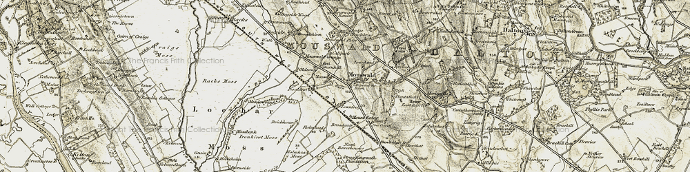 Old map of West Raffles in 1901-1905
