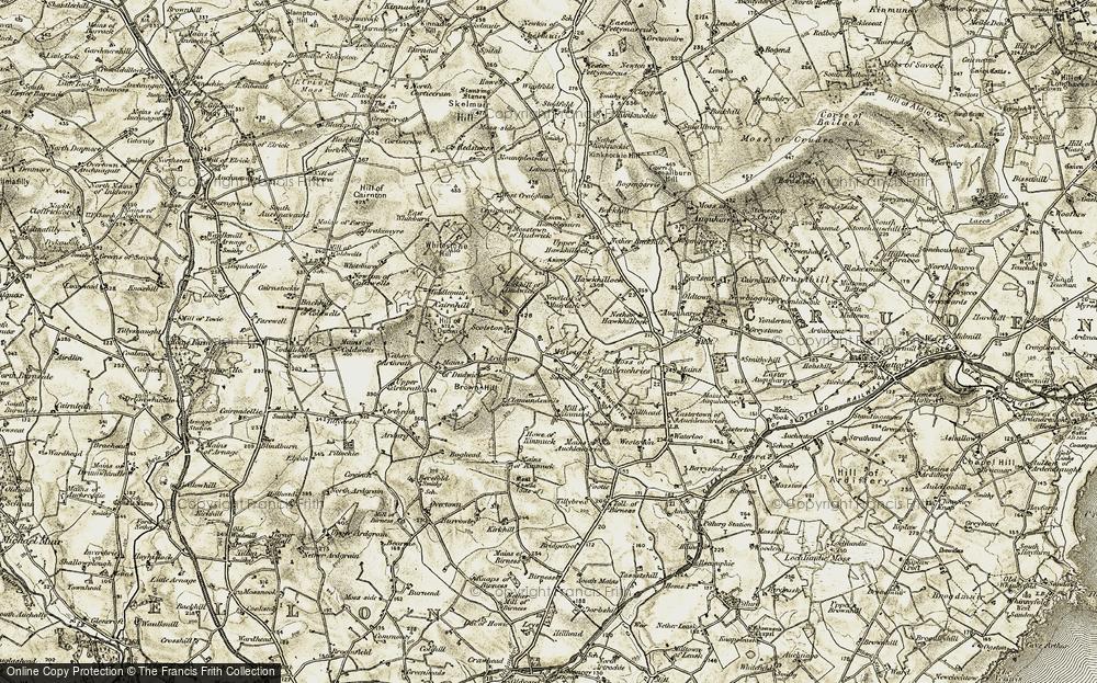 Muirtack, 1909-1910