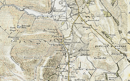 Old map of Wilton Hill in 1901-1904