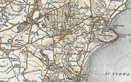 Old map of Mynytho in 1903