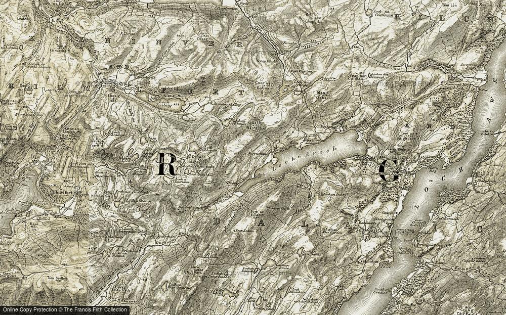 Narrachan, 1906-1907