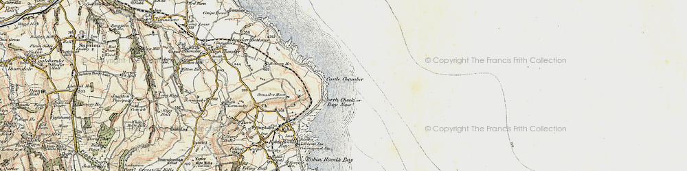 Old map of White Stone Hole in 1903-1904