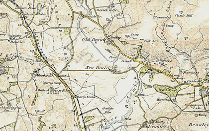 Old map of Tick Law in 1901-1903