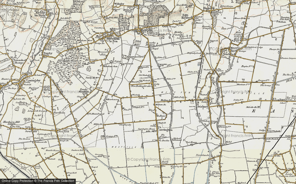 Old Map of New Bolingbroke, 1902-1903 in 1902-1903