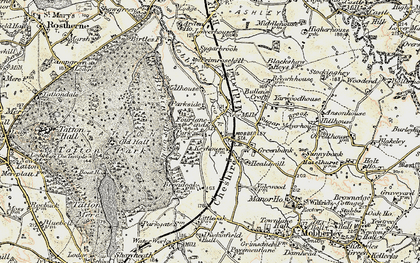 Old map of Yarwood Ho in 1902-1903