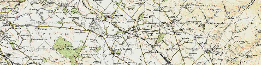 Old map of Williamsgill in 1901-1904