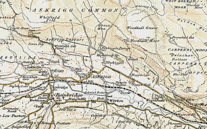 Old map of Newbiggin in 1903-1904