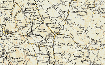 Old map of Aleck Low in 1902-1903