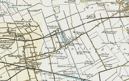 Old map of Newport in 1903