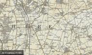 Map of Newton, 1898-1901