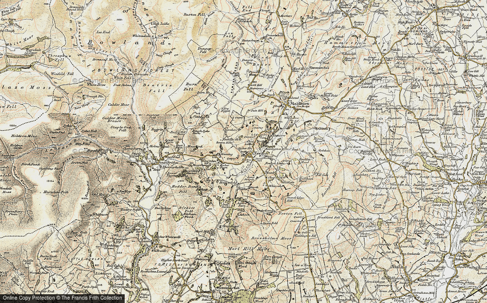 Old Map of Newton, 1903-1904 in 1903-1904
