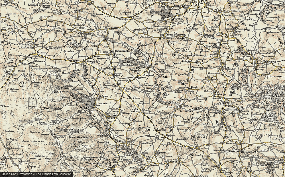 Old Map of Historic Map covering Lanoy in 1900