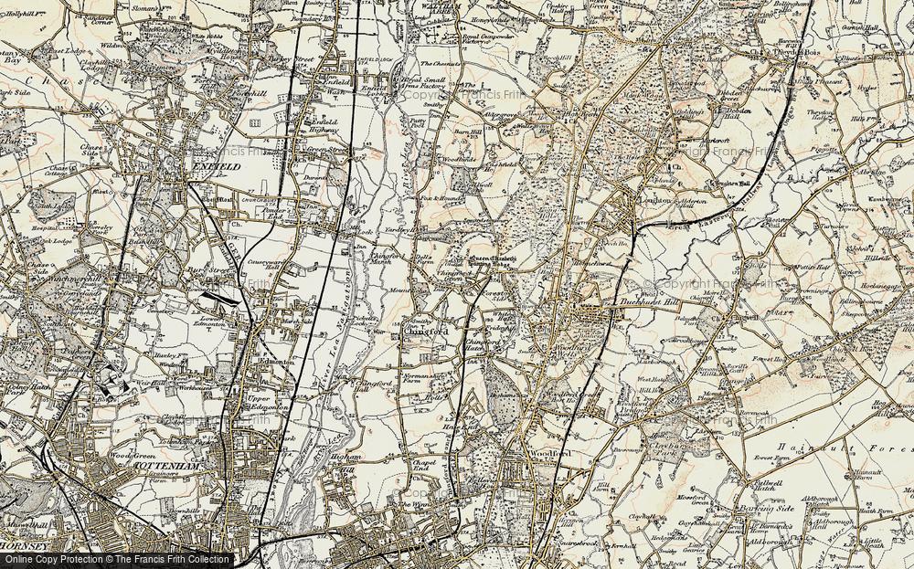 North Chingford, 1897-1898