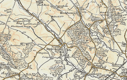 Old map of West Park in 1897-1909