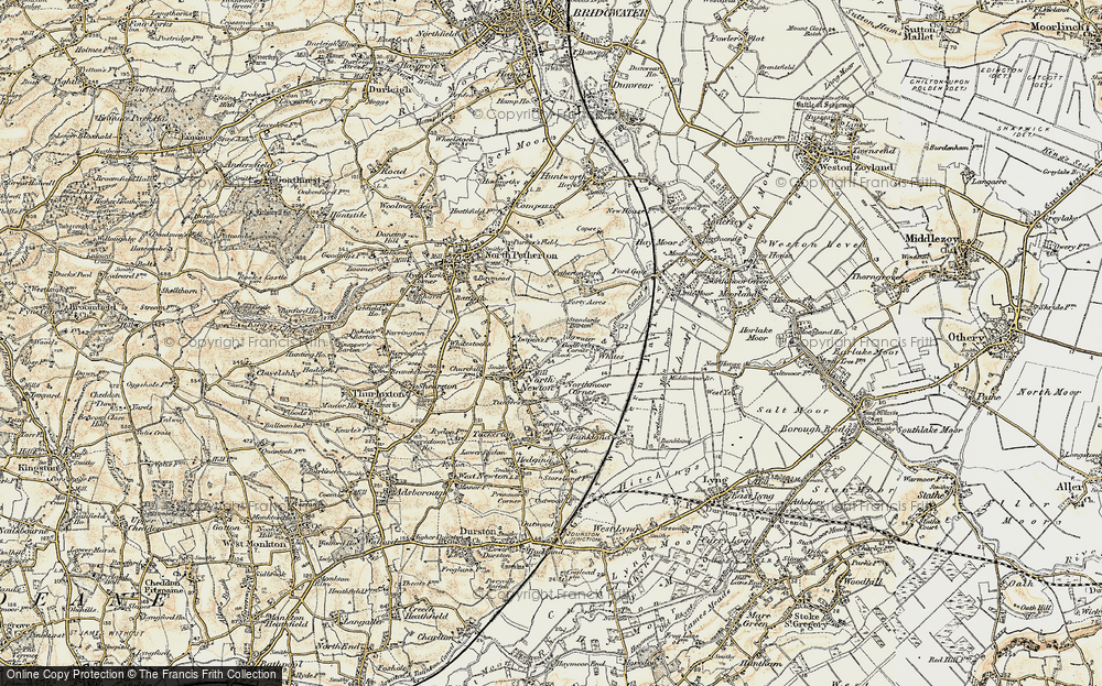 Old Maps of Somerset Francis Frith