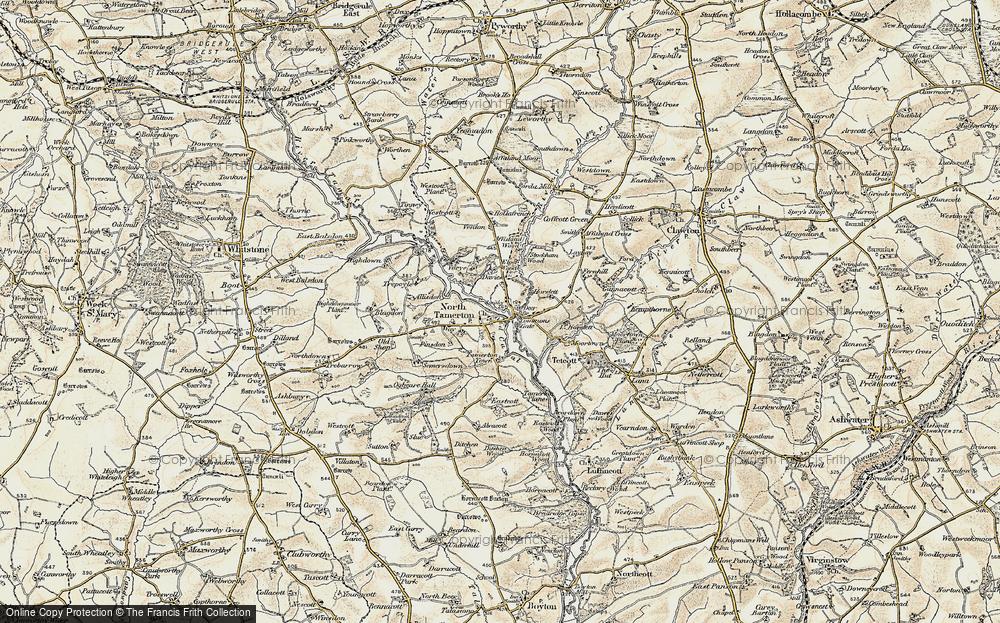 North Tamerton, 1900