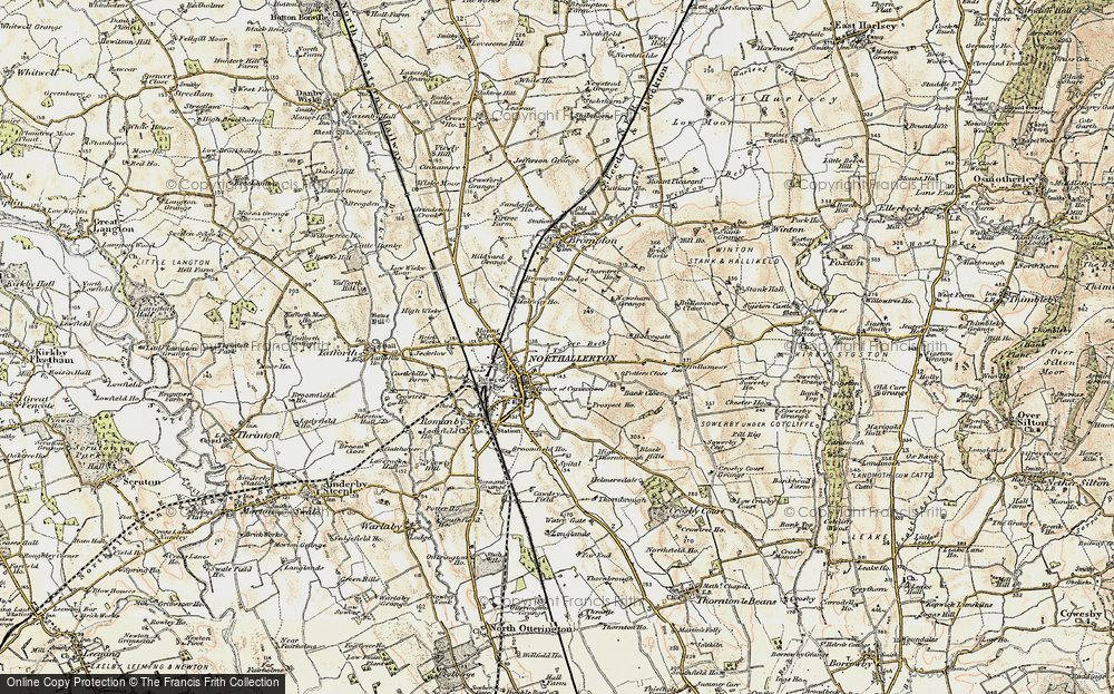 Old Maps of Harrogate Ho Francis Frith